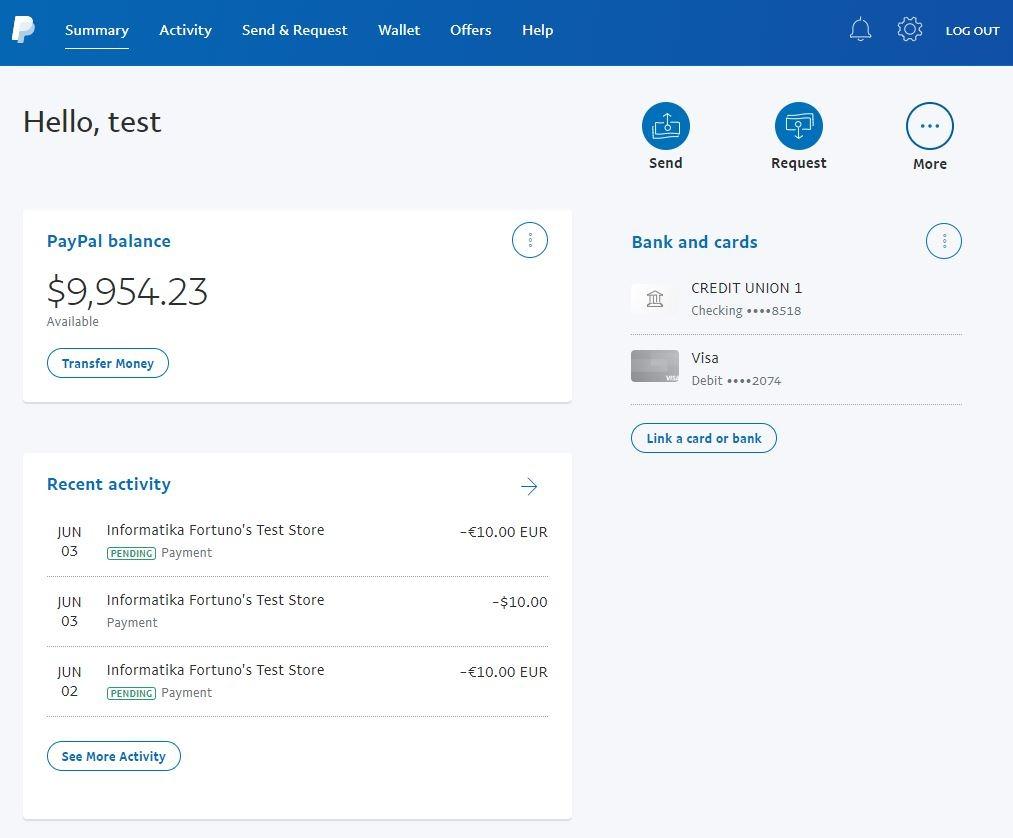 Sandbox PayPal