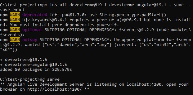 DevExtreme DataGrid NPM
